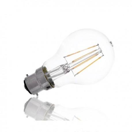 Ampoule filament led 6W B22 2700K