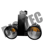 Projecteur LED sur rail 2x35W 4000Lm 3000K