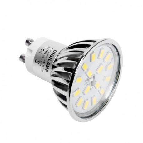 Ampoule LED GU10 6W 500Lm 3000K