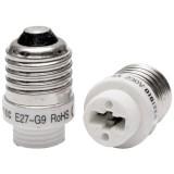 Adaptateur E27 en G9