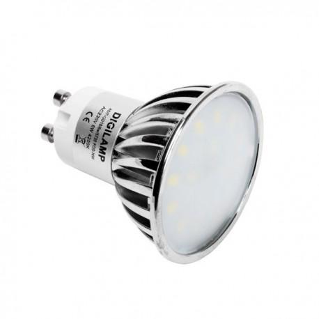 Ampoule LED GU10 6W 500lm 4000K opaque